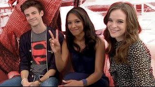 CBR TV @ SDCC 2014: Gustin, Patton & Panabaker Speed into