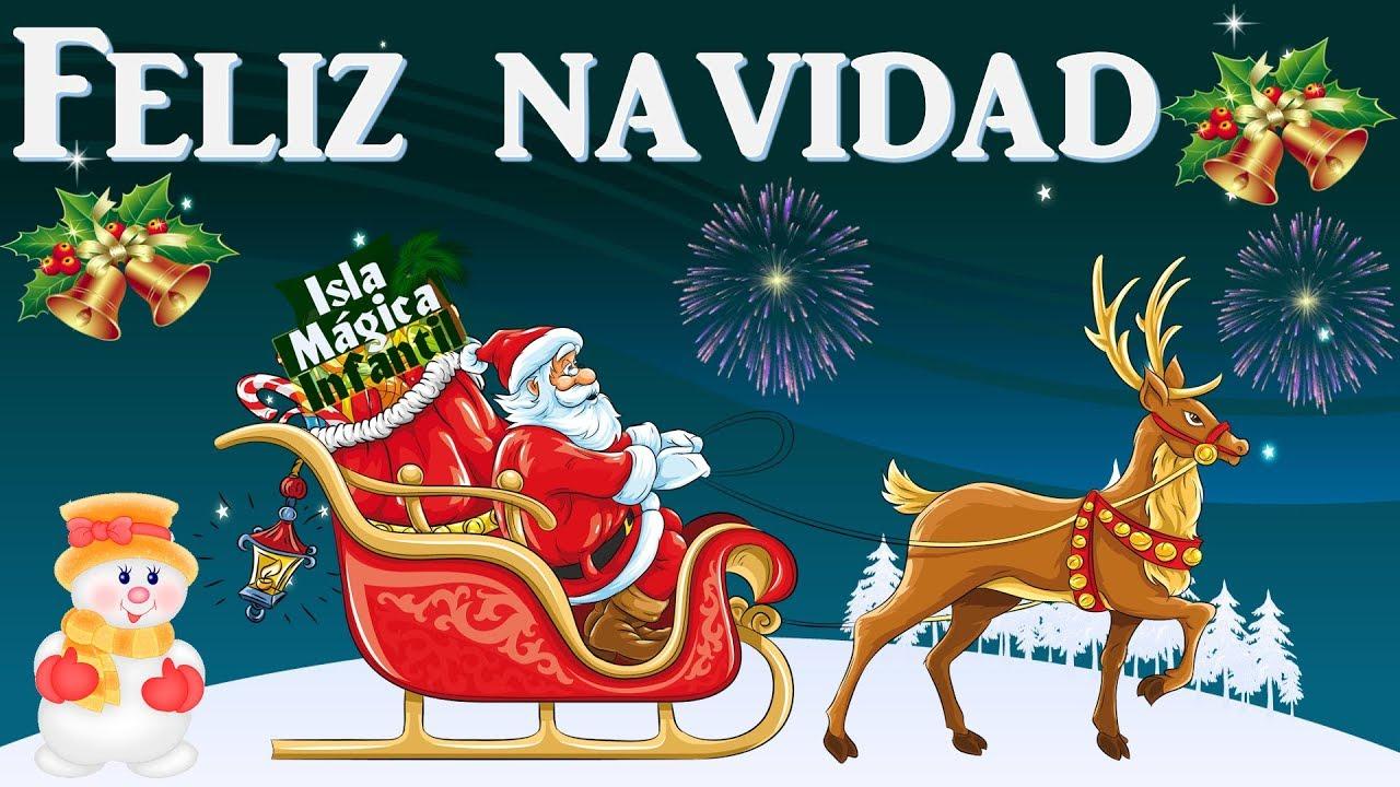 Feliz Navidad Prospero Año Y Felicidad I Wanna Wish You A Merry Christmas Para Niños Youtube