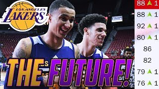 REBUILDING THE LAKERS! THE FUTURE ROY? NBA 2K18 MY LEAGUE
