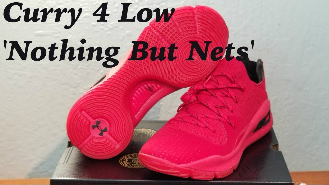 9b8dc7b5ef6 Under Armour Curry 4 Low Limited Edition  Nothing But Nets  Review ...