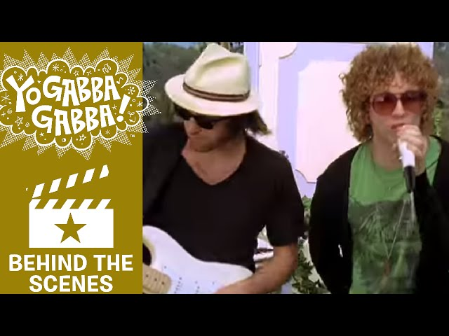 HOT HOT HEAT - Behind the Scenes - YO GABBA GABBA