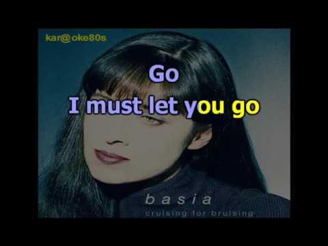 Basia / Cruising For Bruising karaoke