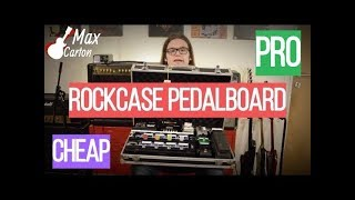 ROCKCASE RC 23010B CASE, QUALITY PEDALBOARD FOR LITTLE $$$