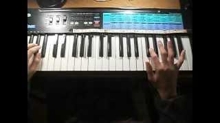 Amigos con derecho- Nene Malo- (Piano tutorial)
