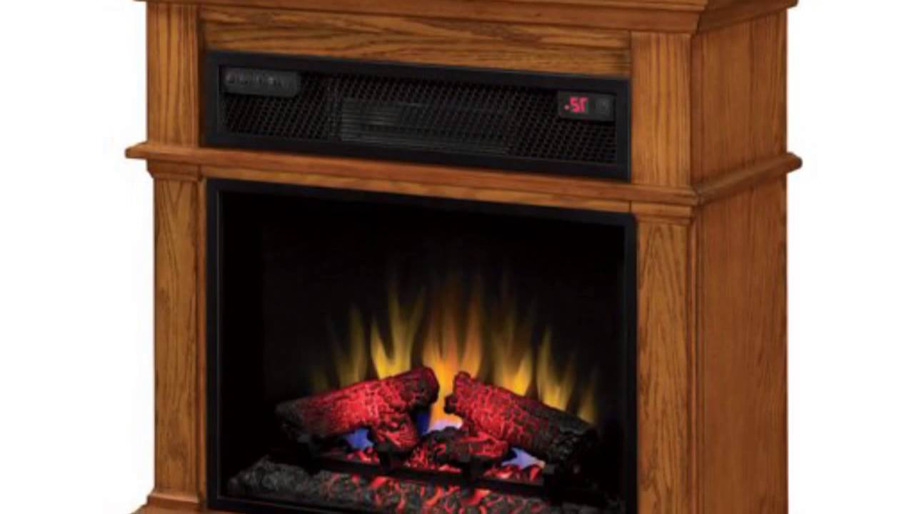 duraflame infrared rolling mantel 23if1714 0107 01 youtube