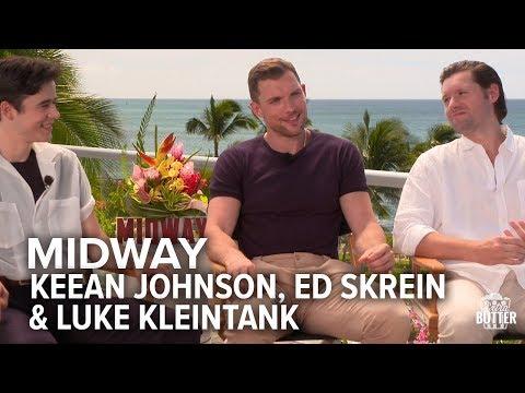 Midway: Keean Johnson, Ed Skrein & Luke Kleintank Interview | Extra Butter