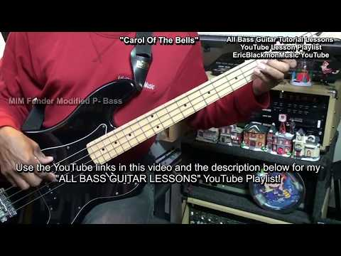 😎 ALL BASS GUITAR LESSONS From EricBlackmonGuitar Compilation Playlist