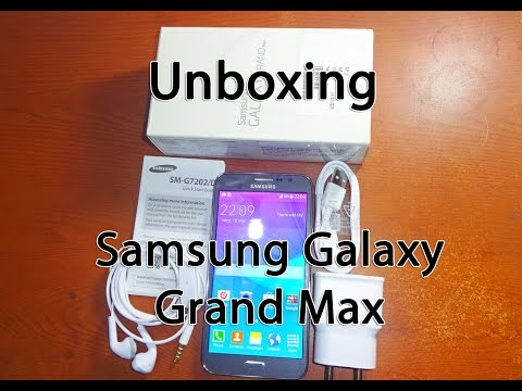 Samsung Galaxy Grand Max Unboxing and Hands On Review