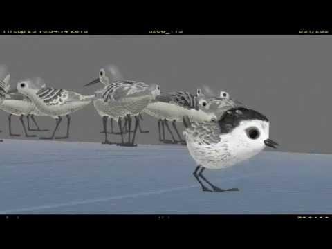'Piper' VFX - Pixar's Short Film Before 'Finding Dory'