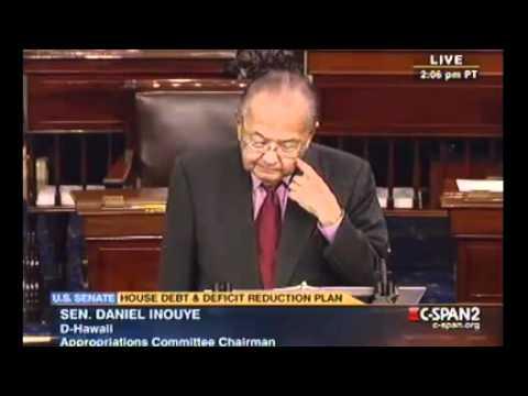 Floor Statement by Senator Daniel K. Inouye in Opposition to Cut, Cap, and Balance