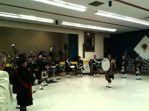 Canadian Scottish Association Pipe Band part 1