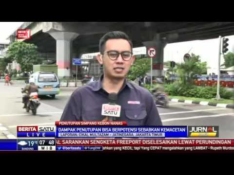 Dishub DKI Tutup Simpang Kebon Nanas untuk Tol Becakayu