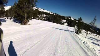 Vídeo del Reportaje de la Estación de Esquí de Puyvalador Rieutort (Pirineo Francés)