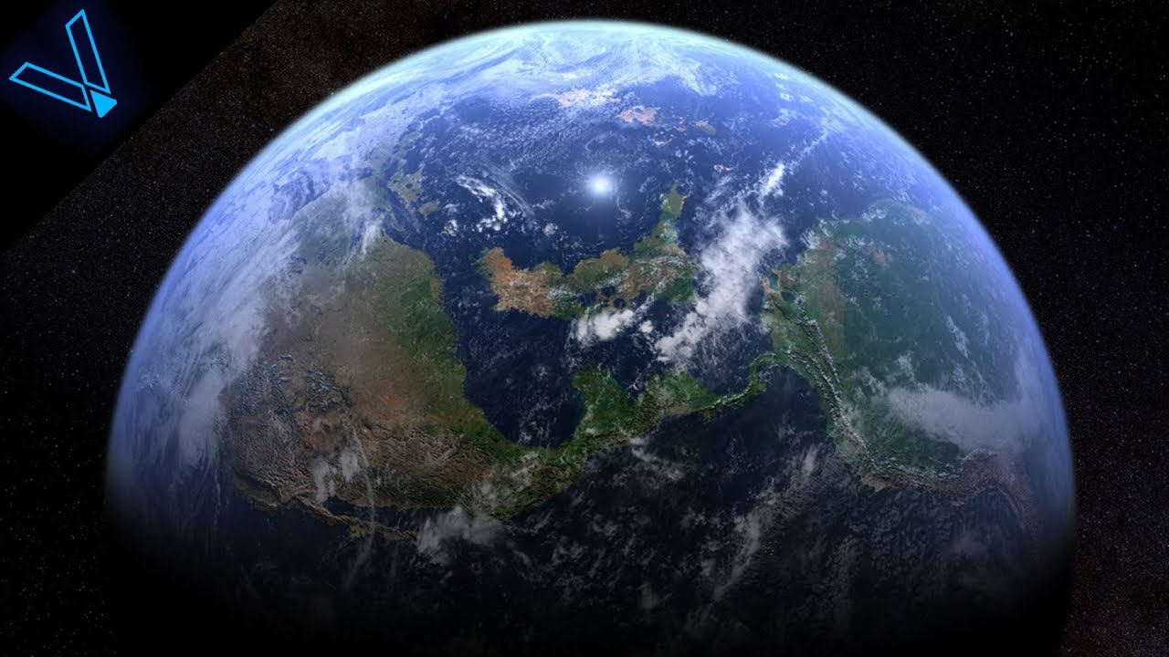 What Does The Earth Look Like From Deep Space No Flat