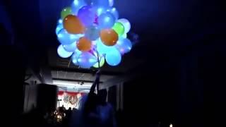 Запуск светящихся шаров на Свадьбе    Купить в Киеве  интернет магазин SkyFire ua com 093 087 67 67