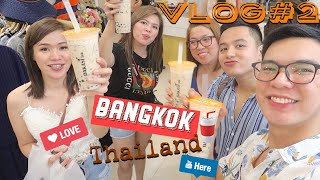 VLOG#2 Visiting Temples ing Bangkok Thailand and Icon Siam Mall (part 2) | Philippines