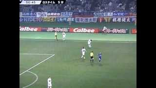 2012年3月17日。味スタホーム開幕戦。名古屋グランパスとの試合。3-2...