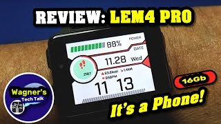 lEM4 Pro: Android 5.1 2019 Smart Watch 100- PHONE/WIFI/GPS/BLUETOOTH/HR/1200mAh Battery