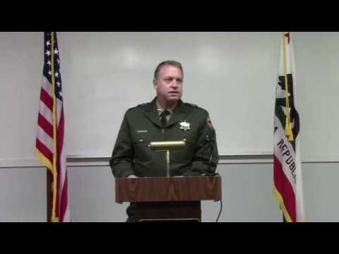 CA State Lifeguard Aaron Pendergraft Medal of Valor Ceremony