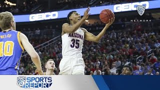 Highlights: Arizona Men's Basketball Downs UCLA, Moves On To Tourney Final