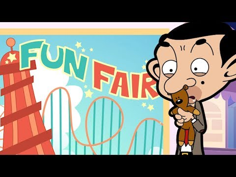 Fun Fair | Funny Clips | Mr Bean Cartoon World