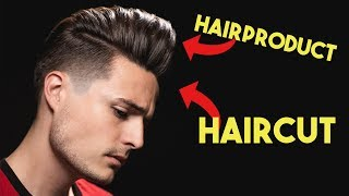 What's More Important: The HAIRCUT or HAIR PRODUCT?   Mens Hair Tips & Tricks