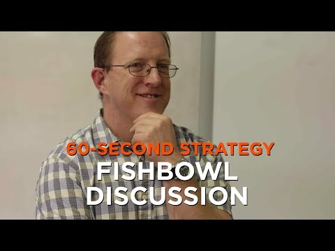 60-Second Strategy: Fishbowl Discussion