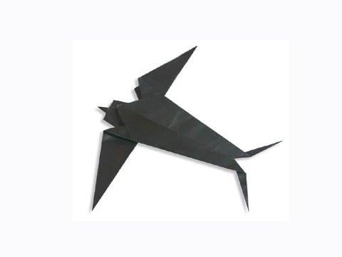 Cách gấp, xếp con chim én bằng giấy origami - Video hướng dẫn xếp hình