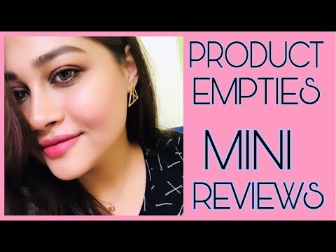 makeup,-skincare-&-hair-cae-empties-|-mini-reviews-|-megha-mukherjee