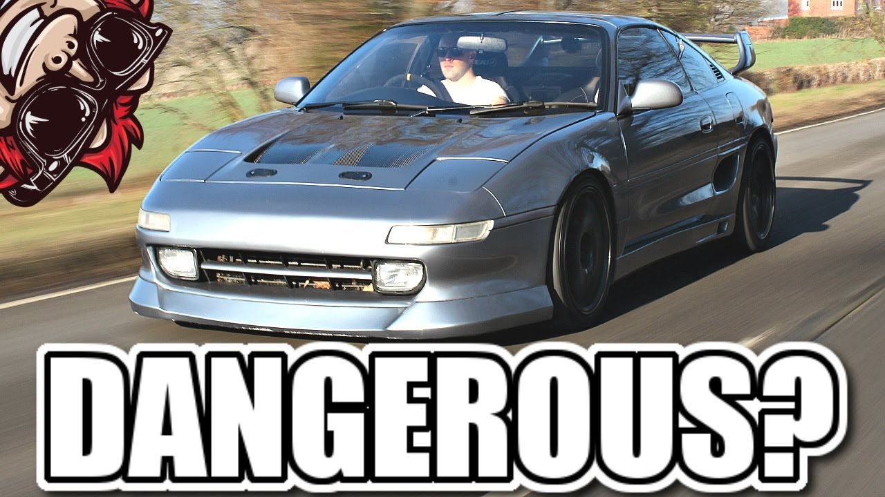 TOYOTA MR2 TURBO REVIEW   WILL IT DO A DRIFT?