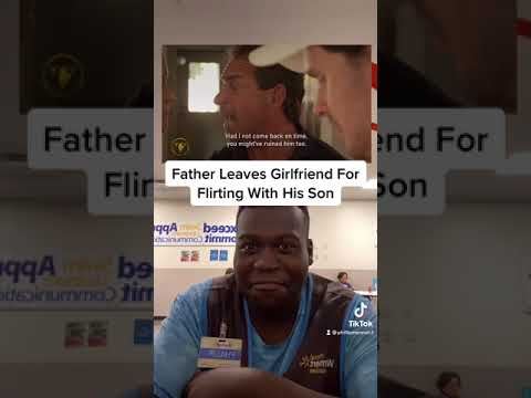 Download Father Leaves Girlfriend For Flirting With His Son (reactions) part 5 #shorts
