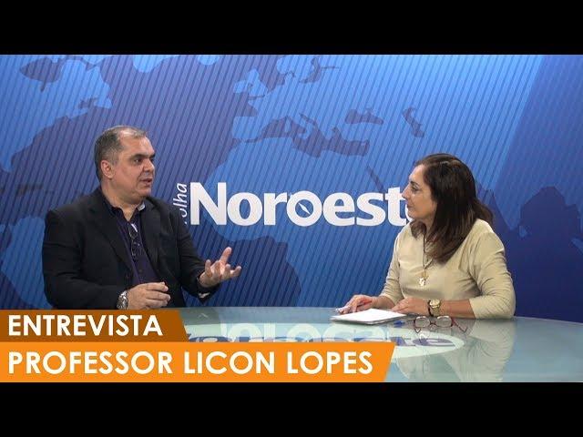 Entrevista com professor Lincon Lopes