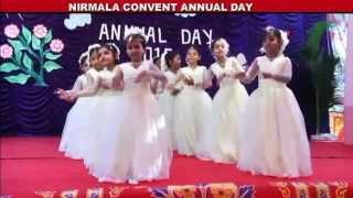 Prayer dance by students of nirmala convent pre-primary school, canacona, goa.