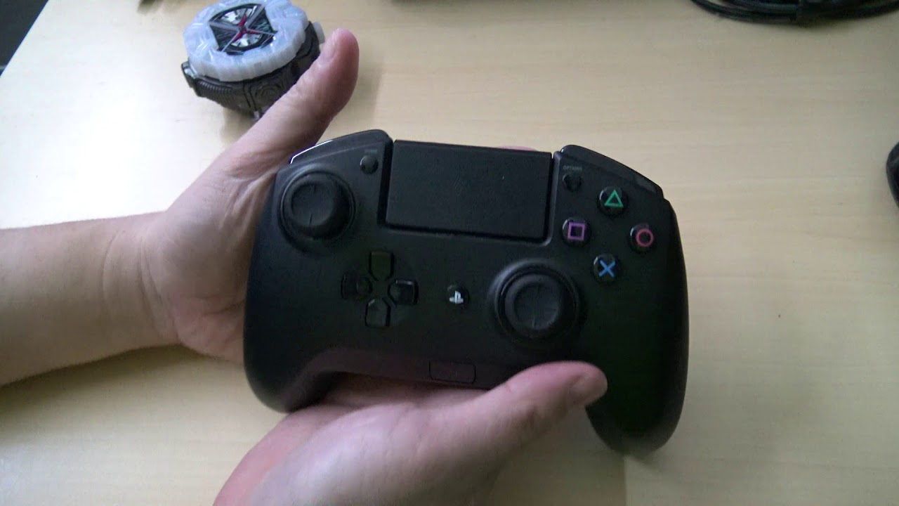 Razer Raiju Gaming Controller : And right now, only the raiju i went with the razer because i'm really passionate about console gaming and high quality devices.
