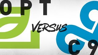 OPT vs. C9 - Week 5 Day 2 | NA LCS Summer Split | OpTic Gaming vs. Cloud9 (2018)