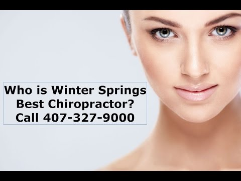Chiropractor Winter Springs FL Towncenter  (407) 327-9000
