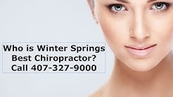 Chiropractor Winter Springs FL Towncenter  (407) 327-9000