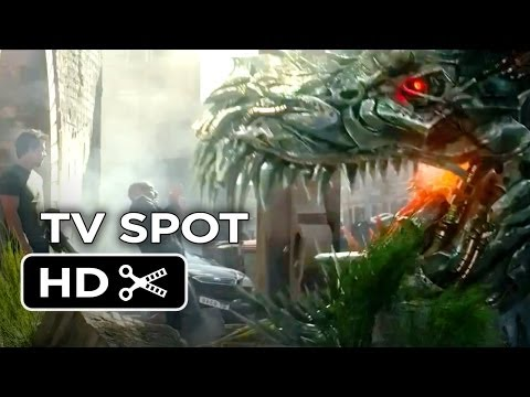 Transformers: Age of Extinction TV SPOT - Dinobots (2014) - Michael Bay Movie HD