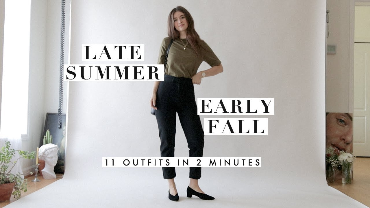 Outfit Ideas for Late Summer & Early Fall | Outfits Inspiration Lookbook | Dearly Bethany 7