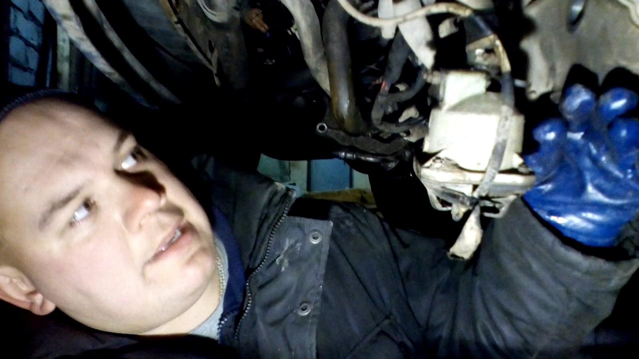 как заменить масло в коробке передач фольксваген т4