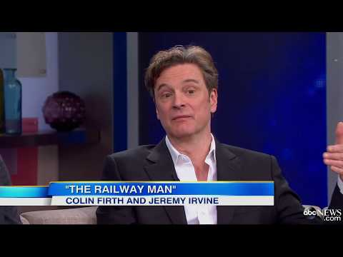 Colin Firth, Jeremy Irvine Playing the Same Man in a True Story of Redemption