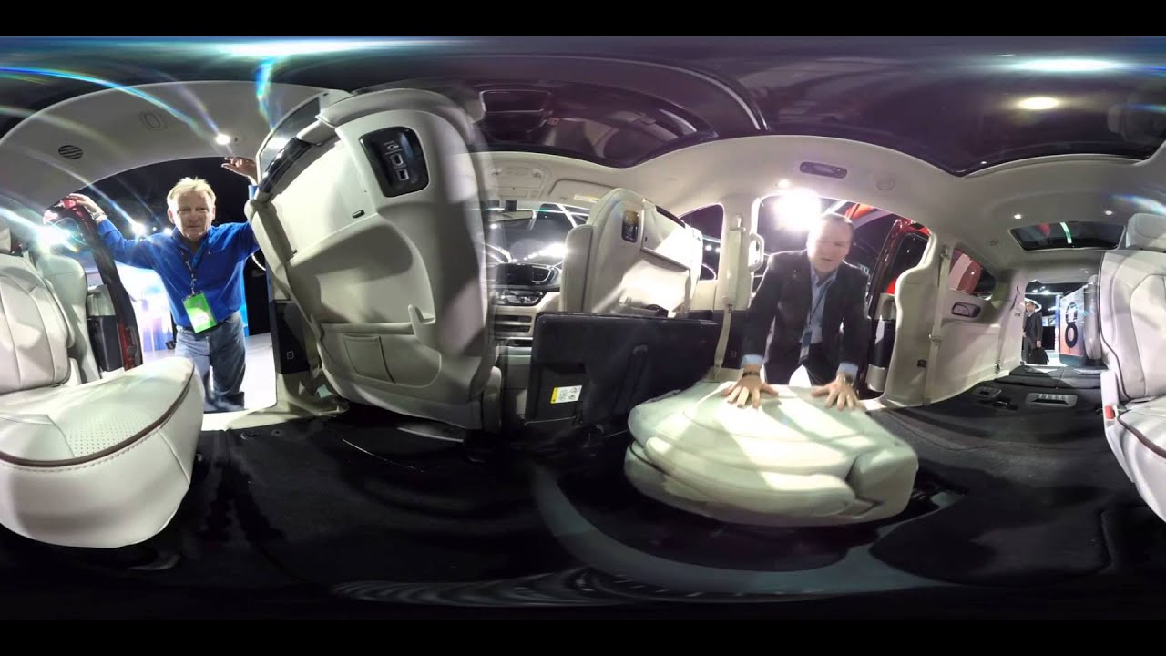 360 Video A Look At The 2017 Chrysler Pacifica Minivan