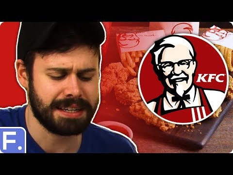 Irish People Taste Test KFC