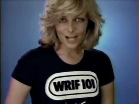 WRIF TV Commercial Detroit Radio 101.1 1980s