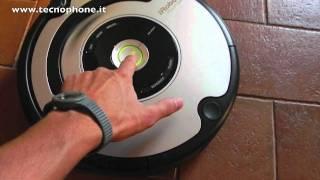 Video recensione aspirapolvere automatica iRobot Roomba 555