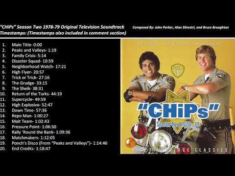 CHiPs Season Two Soundtrack