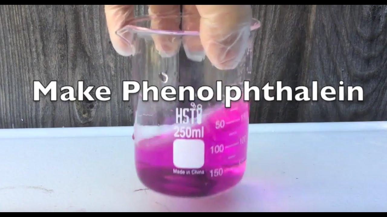 Make Phenolphthalein A Acid Base Indicator