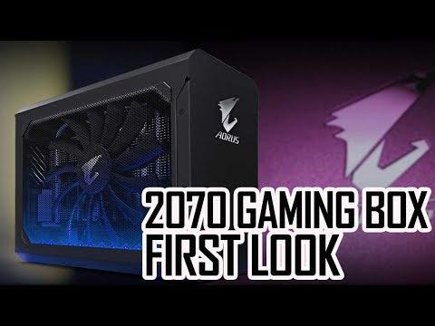 AORUS RTX 2070 Gaming Box   First Look!