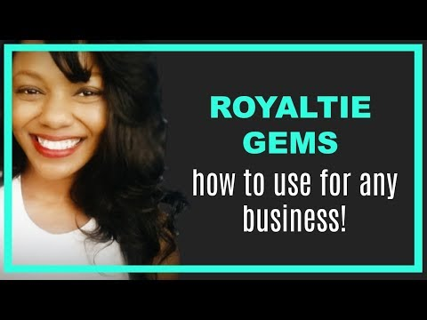 Royaltie Gem Review:  How to Use for Your Business