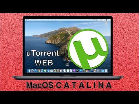 Como es el nuevo uTORRENT Web en MacOS Catalina